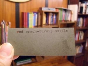 red-orach-tag