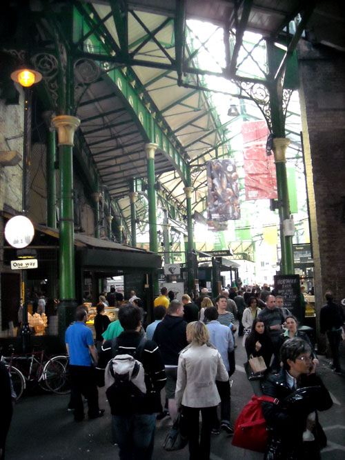 best view inside the borough market