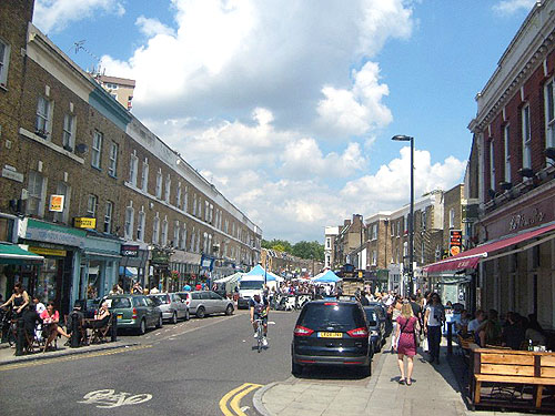 broadway market from afar