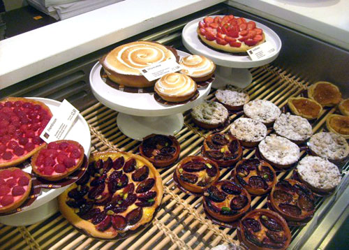dutch pastries at the shop