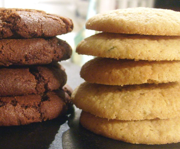 lemon rosemary ice cream sandwich cookies