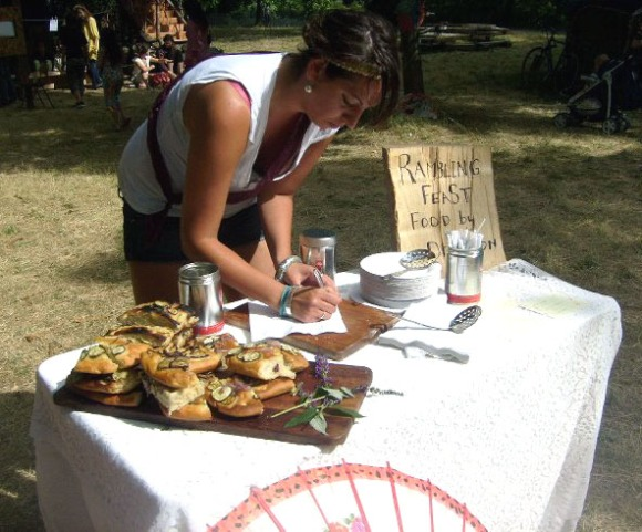 michelle and the rambling feast