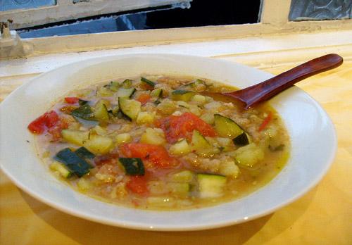 roasted tomato potato soup