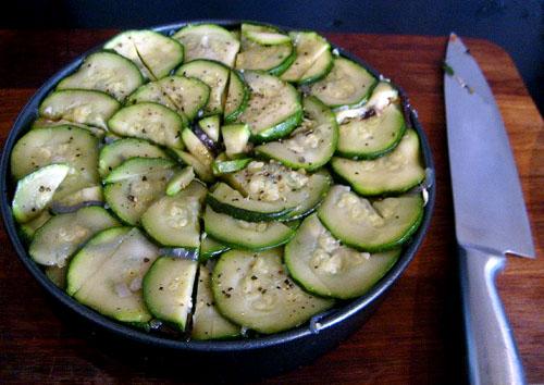 roasted vegetable torte