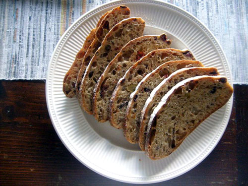 sundried tomato and mixed olive bread