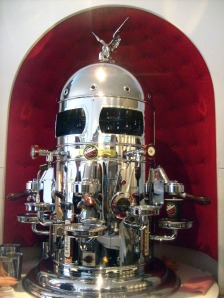 the coffee robot