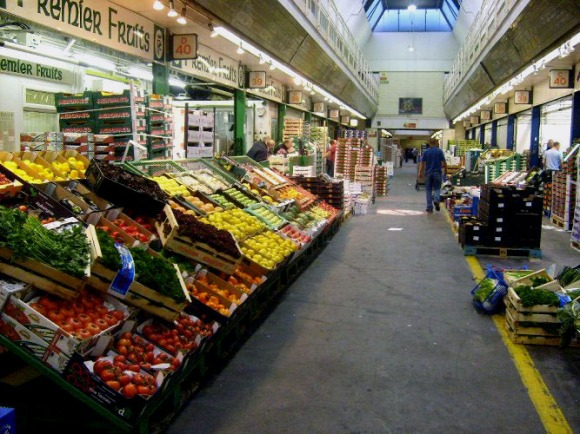 the wholesale produce market at new covent garden