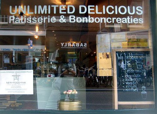 unlimited delicious shopfront